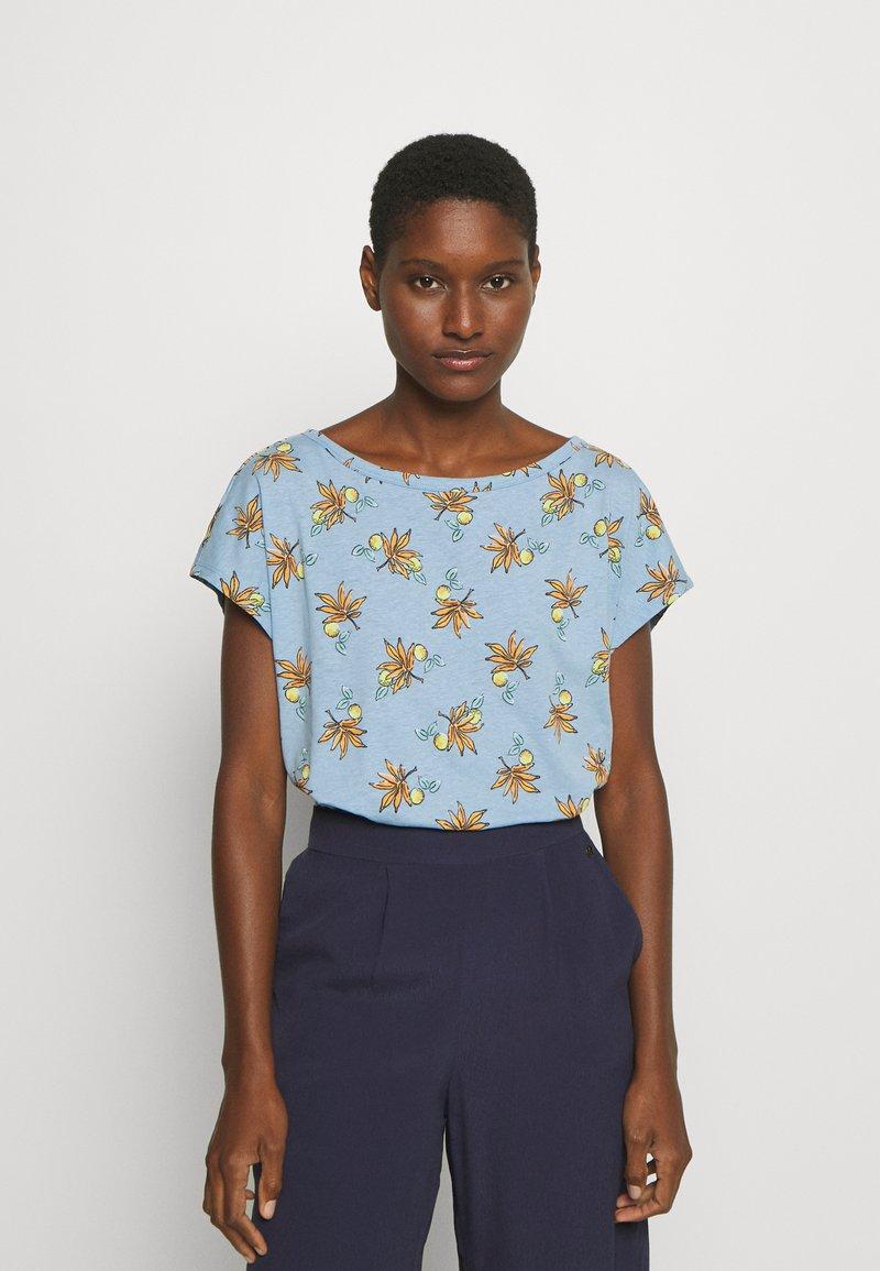 Esprit - TEE - T-shirts med print - light blue