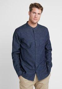Bergans - OSLO SHIRT - Košile - dark denim - 0