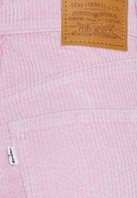Levi's® - RIBCAGE STRAIGHT ANKLE - Trousers - pebble keepsake lilac - 6
