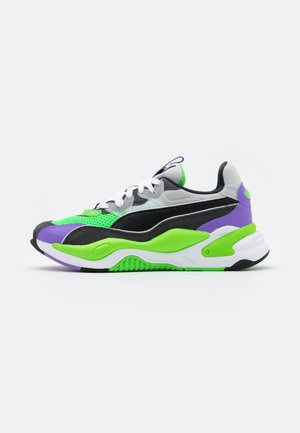 RS-2K INTERNET EXPLORING UNISEX - Sneakers basse - dark shadow/fluo green