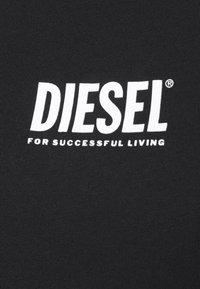 Diesel - T-SILY-SMALLLOGO - Print T-shirt - black - 5