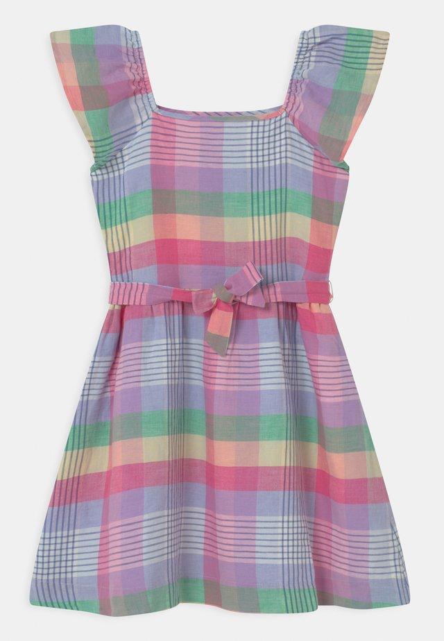 GIRL PLAID - Vestito estivo - multi-coloured