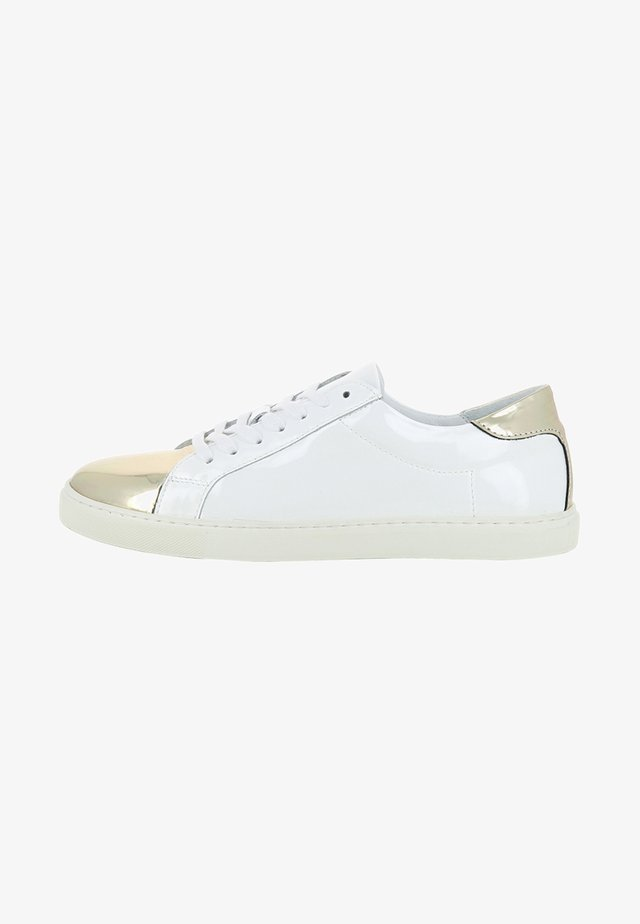 MARISA - Sneakers laag - white/gold