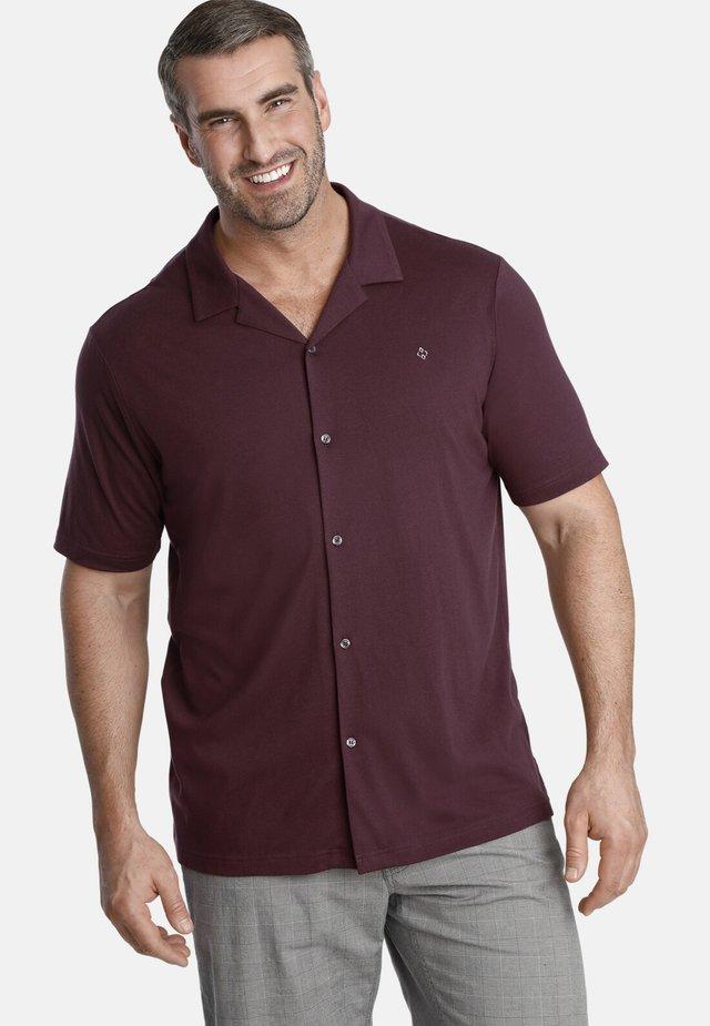 EARL THORLEY - Shirt - dark red