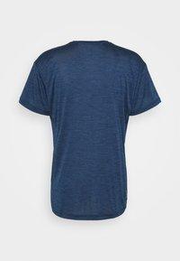 Salewa - PUEZ DRY TEE - Basic T-shirt - dark denim melange - 6