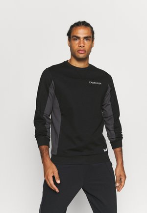 Sweatshirt - black/periscope/stone grey