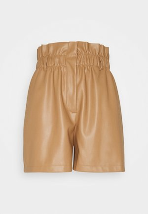 VMSOLARIE COATED - Shorts - tobacco brown