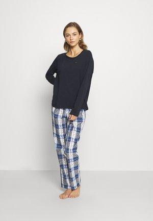 ORIGINAL SET  - Pyjamas - blue/grey