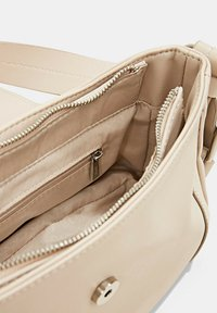 Esprit - FASHION BAGUETTE  - Handbag - light beige - 5