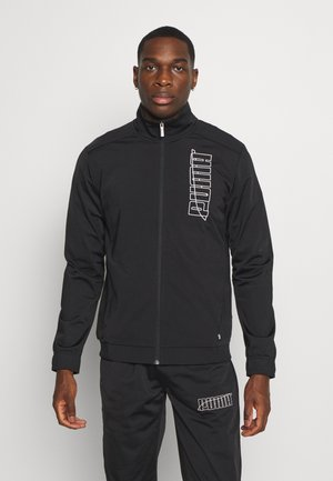 GRAPHIC TRACKSUIT - Tracksuit - black