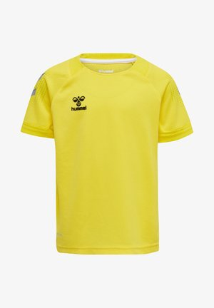 T-shirts print - blazing yellow