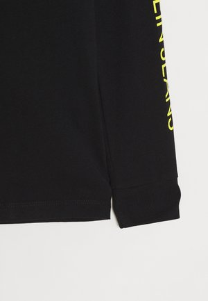 REPEAT LOGO - Long sleeved top - black