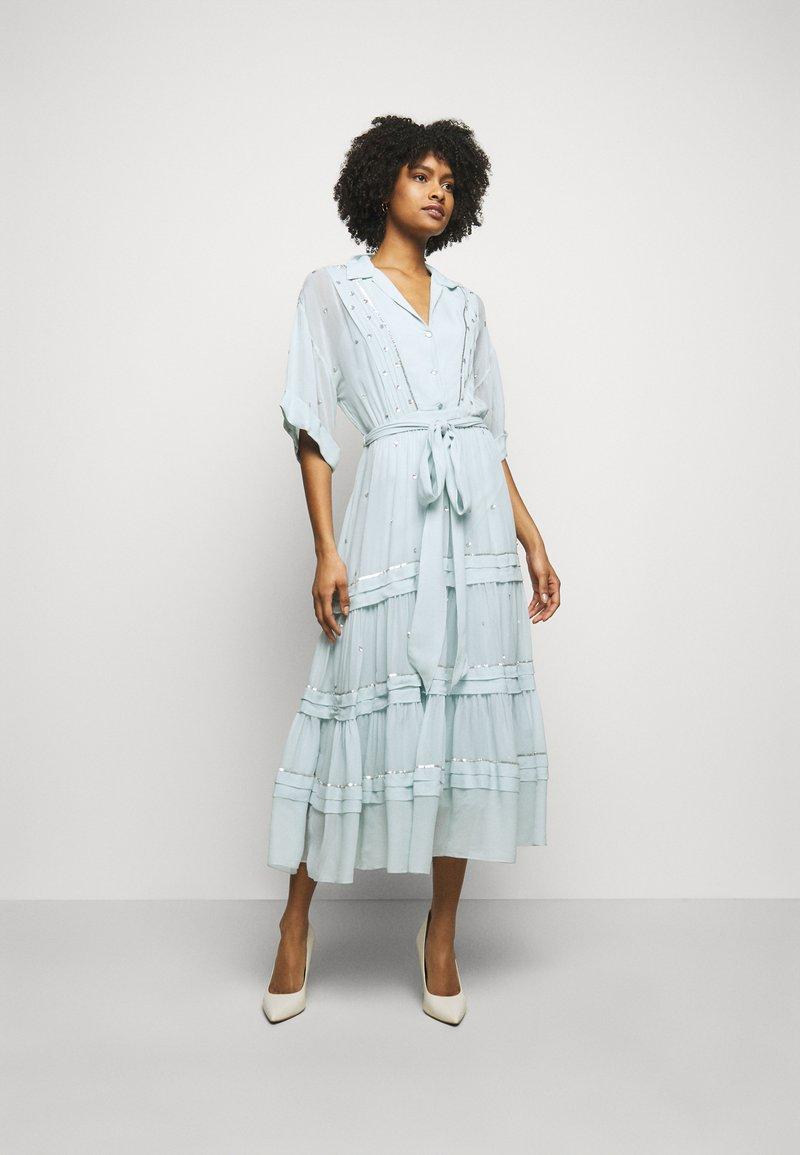 Temperley London - ABBEY DRESS - Společenské šaty - powder blue