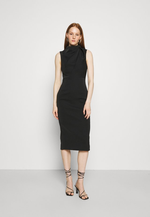THE EDGE OF GLORY DRESS - Shift dress - black