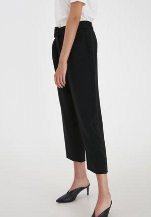 IHJINNY  - Trousers - black