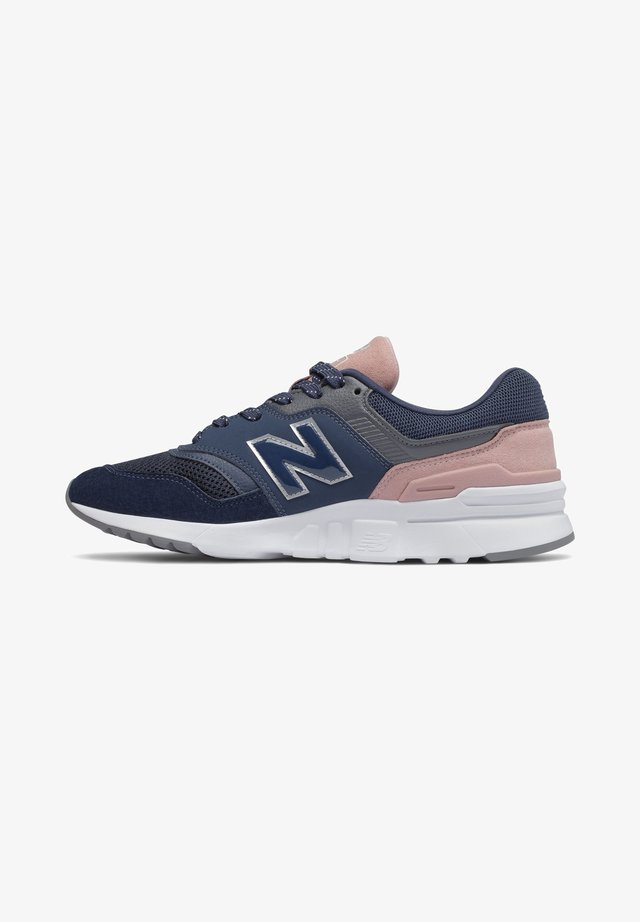 CW997 - Sneakers laag - natural indigo/saturn pink