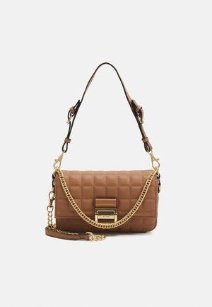 OLEOSA - Handbag - sienna/light gold