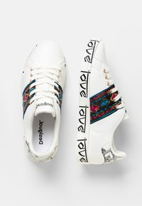 Desigual - SHOES_COSMIC_EXOTIC INDIAN - Trainers - white - 2