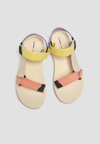 PULL&BEAR - Platform sandals - beige - 4