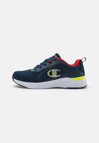LOW CUT SHOE BOLD - Sports shoes - navy/red/yellow