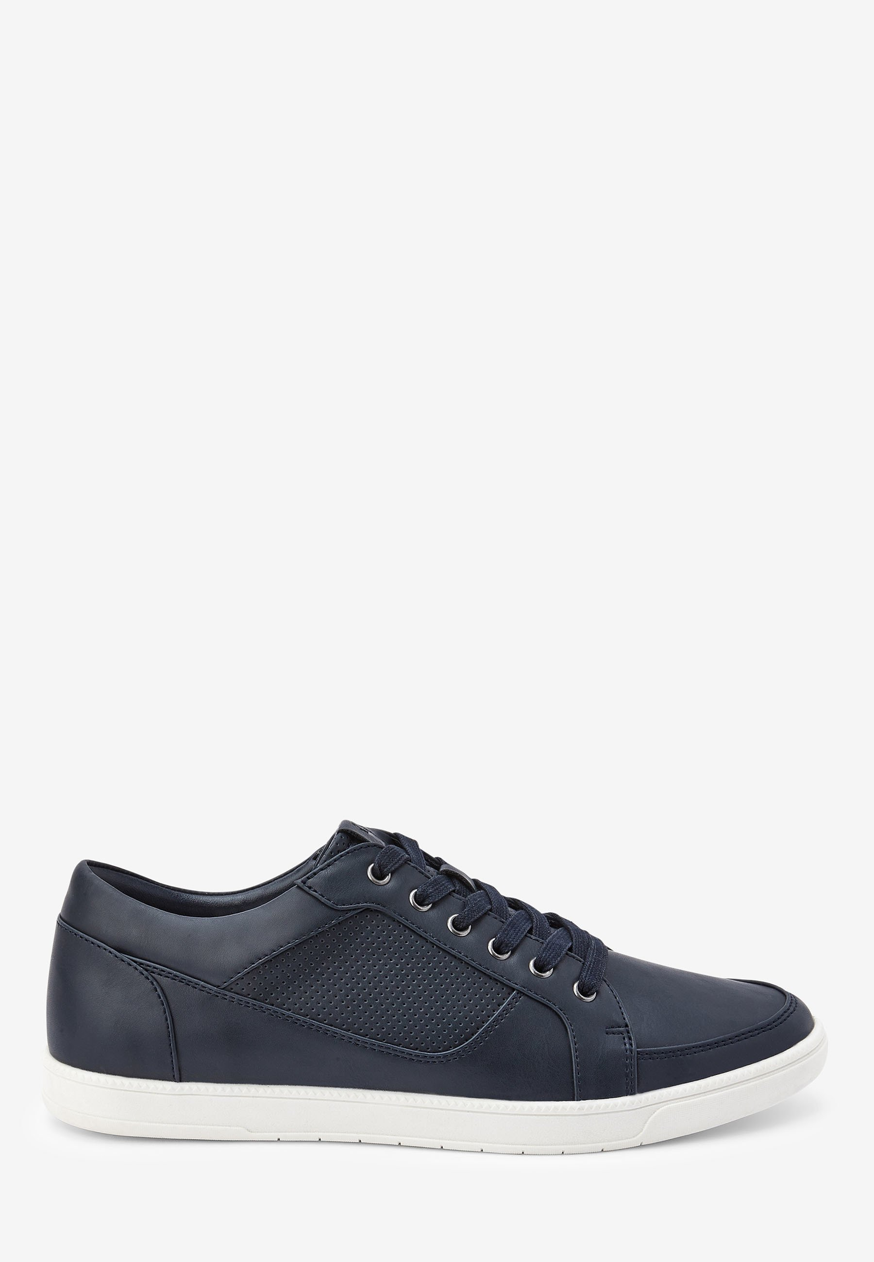 Homme TAN PERFORATED TRAINERS - Baskets basses