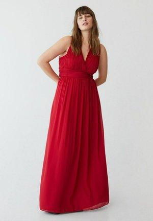 Vestito lungo - rouge