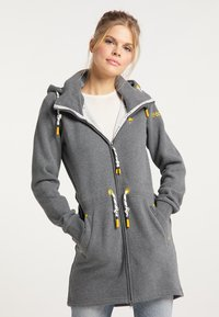Schmuddelwedda - Zip-up hoodie - steingrau melange - 0
