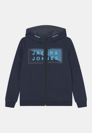JCOSHAWN ZIP HOOD JR - Zip-up sweatshirt - navy blaze