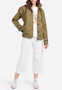 khujo - STACEY - Light jacket - khaki - 1