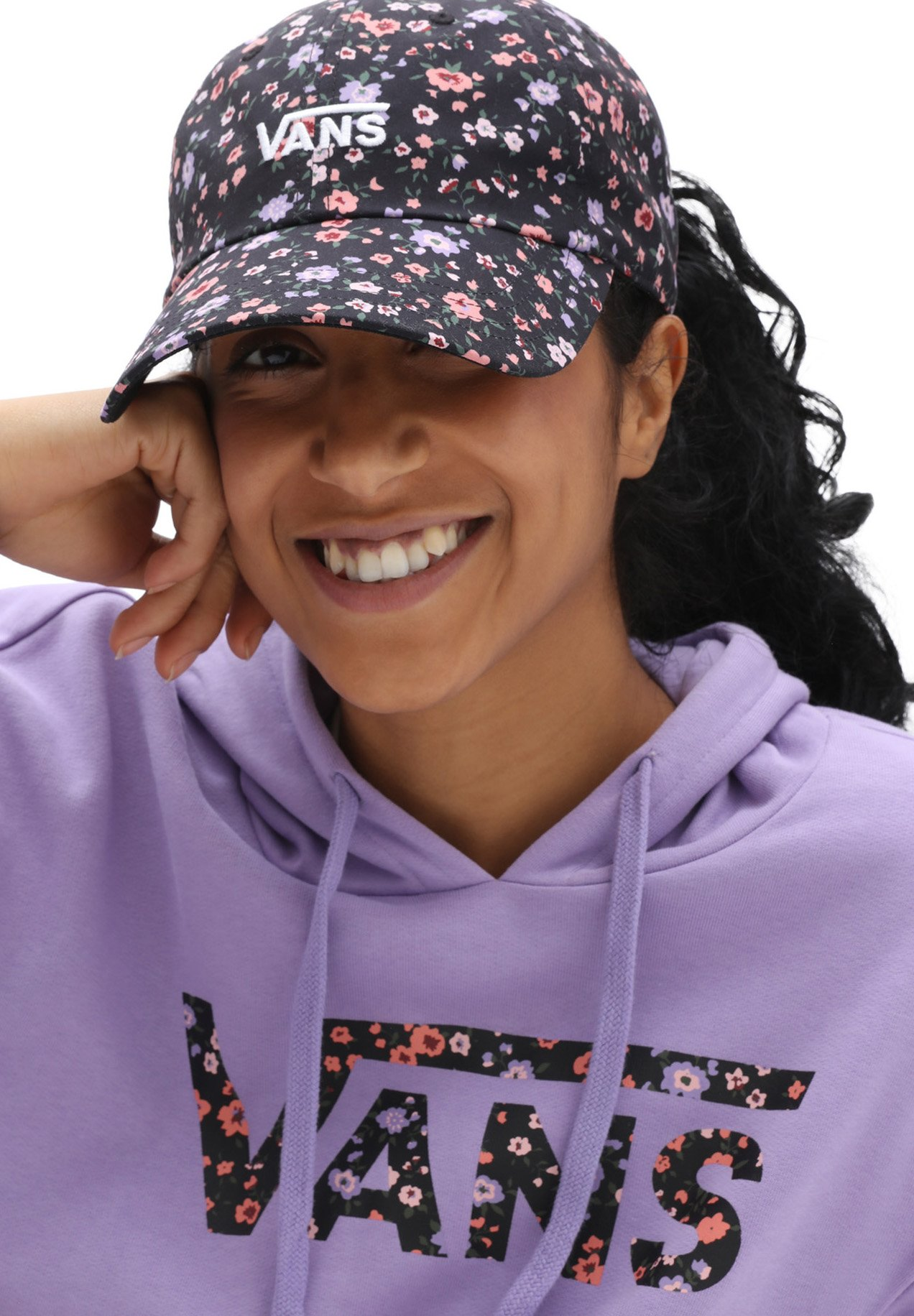 Donna WM COURT SIDE PRINTED HAT - Cappellino