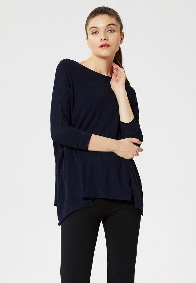 Long sleeved top - dunkel blau