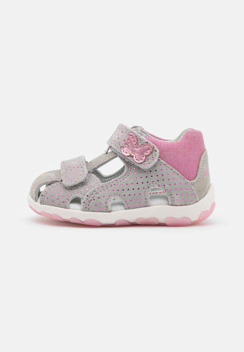 Superfit - FANNI - Sandals - hellgrau/rosa