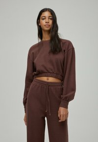 PULL&BEAR - Sweatshirt - brown - 0