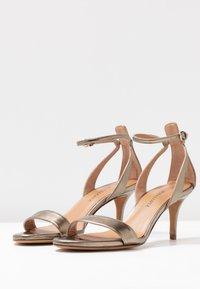 Pura Lopez - Sandals - gold - 4