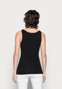 Anna Field - 3 PACK - Topper - black/white /khaki - 2