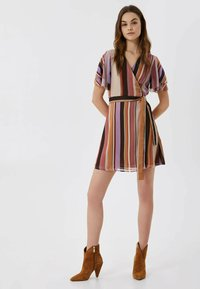 LIU JO - WITH BOW - Day dress - multicolor - 1