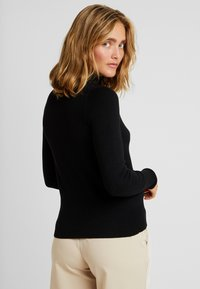 ONLY - ONLVENICE ROLLNECK - Neule - black - 2