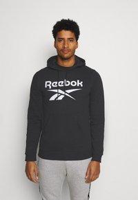 Reebok - HOODIE - Hoodie - black - 0
