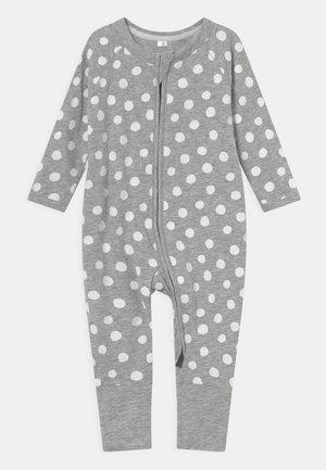 STRETCH UNISEX - Pyjama - white/grey