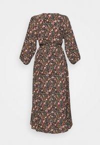American Eagle - RAGLAN KIMONO - Maxi šaty - black - 1