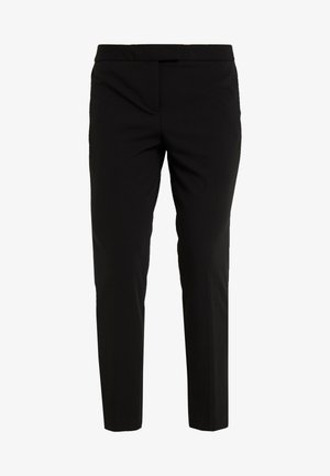 FOUNDATION PANT SIDE SLITS - Kalhoty - black