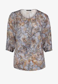 Betty Barclay - MIT MUSTER - Blouse - blue/orange - 3
