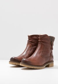 Be Natural - BOOTS - Classic ankle boots - cognac - 4