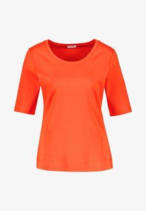 T-shirt basic - tangerine