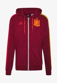 adidas Performance - FEF SPANIEN FZ HD - Zip-up hoodie - bordeaux - 4