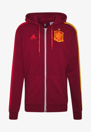 FEF SPANIEN FZ HD - Zip-up sweatshirt - bordeaux