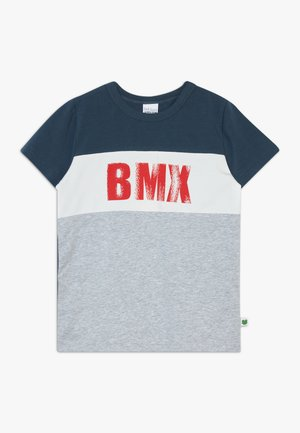 BMX  - Print T-shirt - pale greymarl