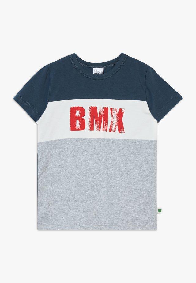 BMX  - T-shirt con stampa - pale greymarl