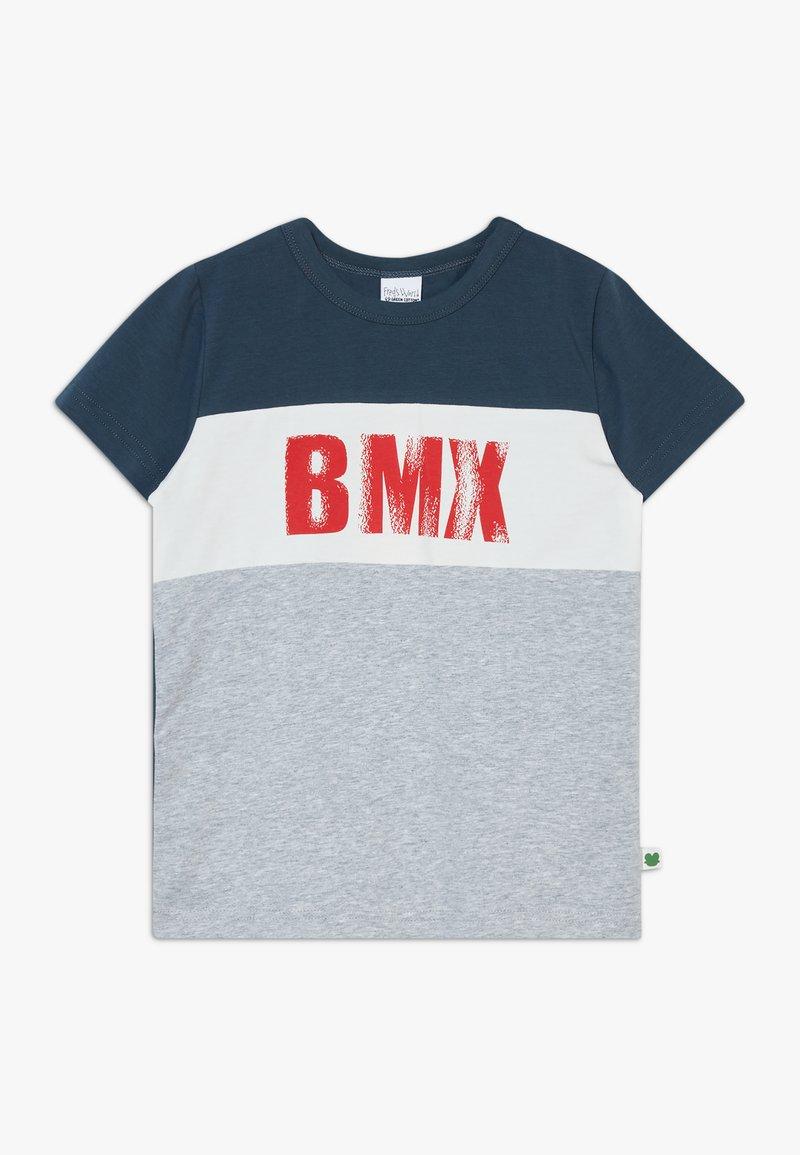 Fred's World by GREEN COTTON - BMX  - Print T-shirt - pale greymarl