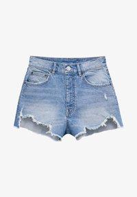 PULL&BEAR - Short en jean - blue - 4